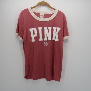 PINK Victoria's Secret Short Sleeve Casual T-Shirt